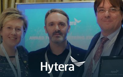Roadphone NRB honored to receive 'Award for Engineering Excellence' by Hytera.